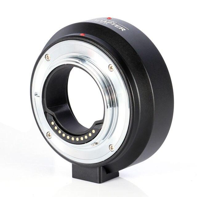 Elektronische Lens Adapter Ring EF MFT voor Canon EF S Lens naar Micro 4/3 M4/3 mount OM D