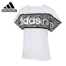 ADIDAS Original New Arrival 2017 Womens NEO Label W BRNDD PNL T Breathable T-shirts short sleeve Sportswear For Women