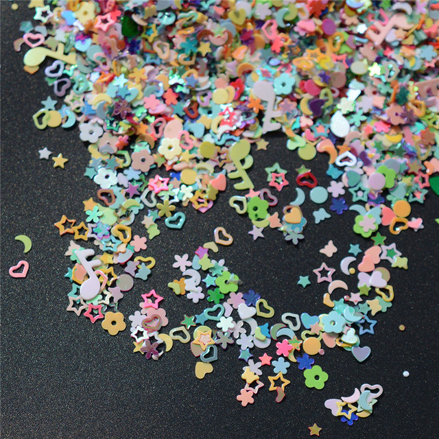 5000pcs Colorful Sequins Birthday Party Confetti / Baby Shower Confetti