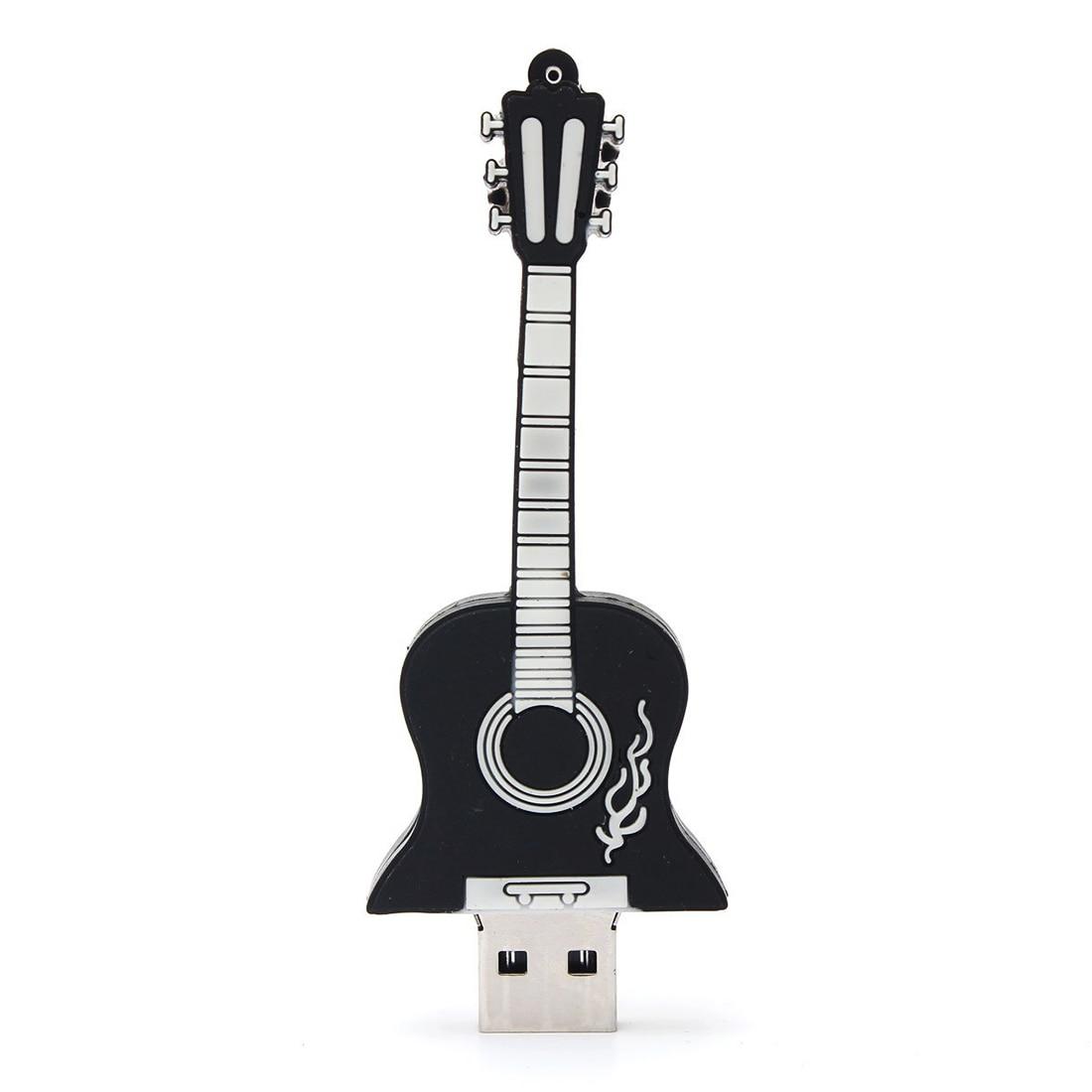 Guitar USB2.0 16GB Flash U disc black