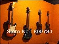 1 шт. настенная вешалка для гитары/Крючки/держатель/подставка/стойка/Крючок для всех гитар, короткий крючок + крепежные винты