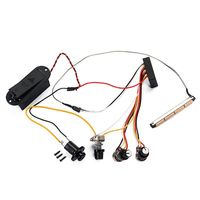 Homeland Guitar Pickup Preamp Active Amplifier Treble and Volume Control For Acoustic Bass Electrical Ukulele