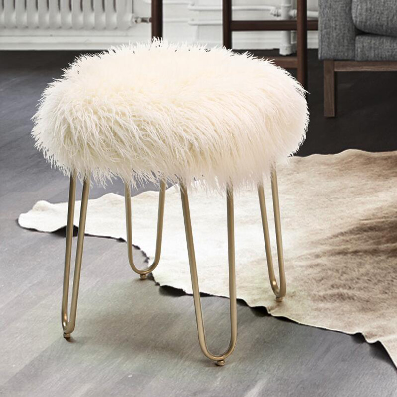 Strange Us 98 48 17 Off North European Fashion Dressing Stool Chair Living Room Change Shoe Bench Light Luxury Bedroom Dressing Table Makeup Stool In Stools Pabps2019 Chair Design Images Pabps2019Com