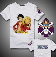 Free Shipping Japan Hot Anime One Piece Chopper Short T Shirt Tops Tees Men One Piece Luffy Print Top Tees