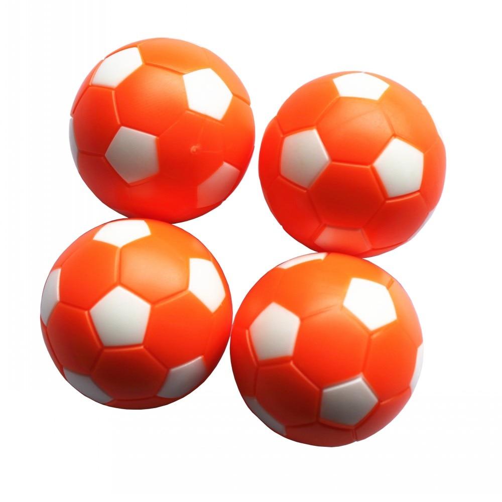 Rodzinny stół do gry w piłkarzyki 36 mm plastikowe pomarańczowe - Rozrywka - Zdjęcie 1
