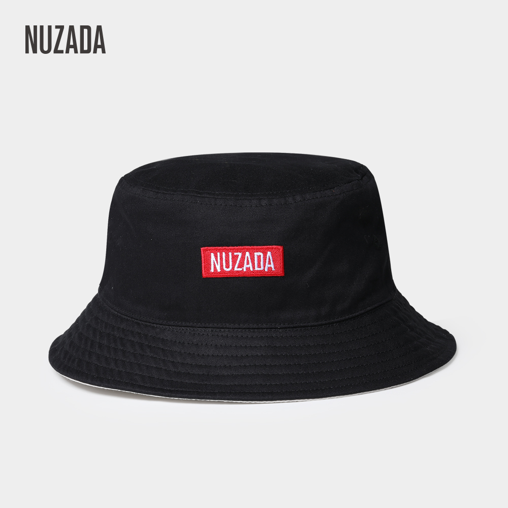 1ad621fbc1a NUZADA Classic Men Women Couple Bucket Hat Caps Summer Autumn Spring Fisherman  Cotton Double Layer Fabric Sunscreen Hats