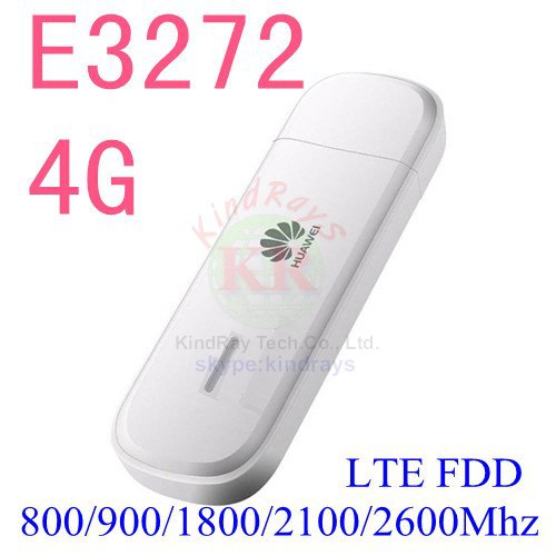 Déverrouiller 4g HUAWEI modem E3272 4G LTE Modem E3272h-153 dongle 4g carte sim avec antenne E3272h e3272s modem 4g