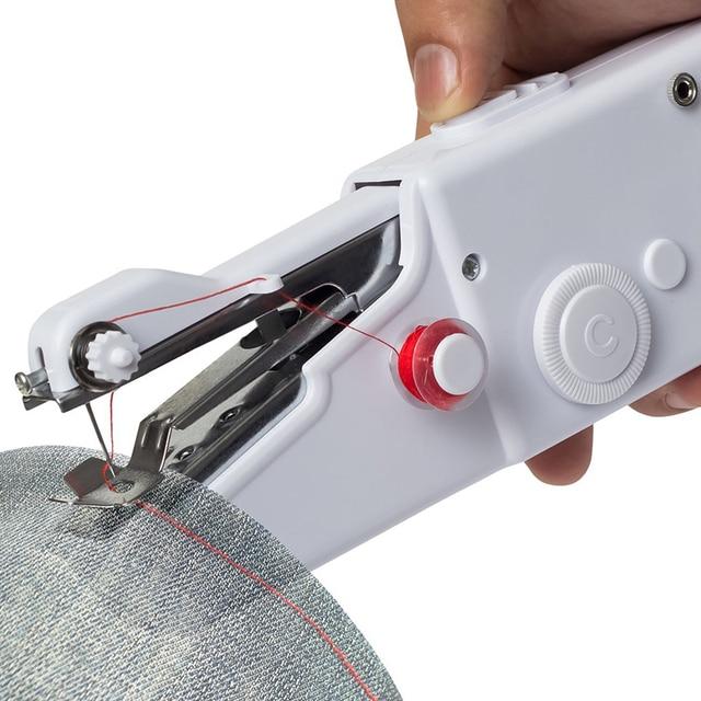Battery Operation Mini Sewing Machine Rotary And Horizontal Shuttle Classy Portable Sewing Machine