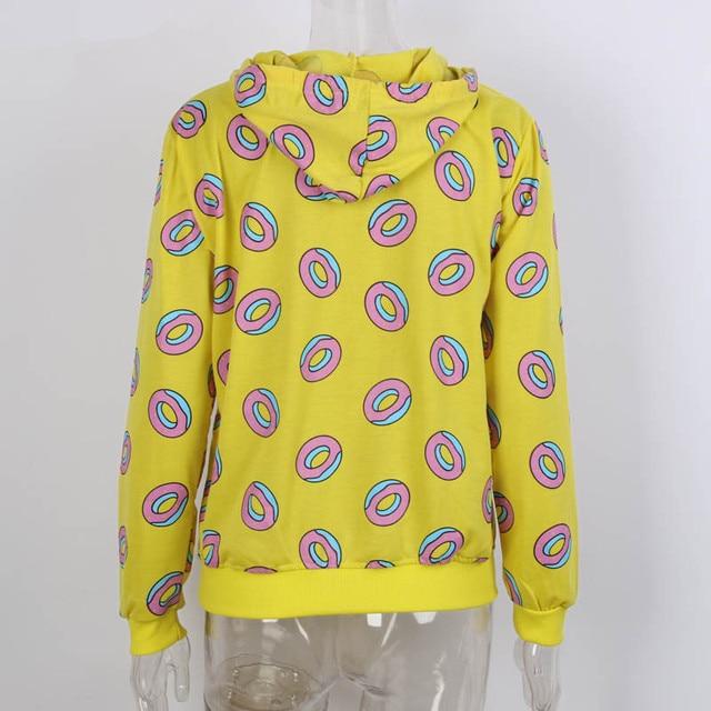 ec11277fce5816 Kpop GOT7 Just Right Mark BTS JungKook Cute Donut Hoodies Unisex Brand New  Sweatshirt Women Printed K-pop Got7 Hoodie EXO 3430