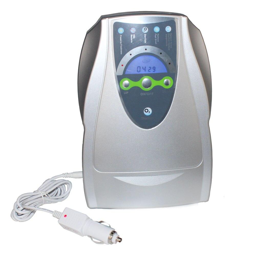 Générateur d'ozone stérilisateur purificateur d'air Purification fruits légumes eau préparation alimentaire ozonateur ioniseur AC100-240V/12 v