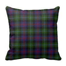 Soft Traditional Wellington Tartan Plaid Cushion Cover (Size: 45x45cm) Free Shipping