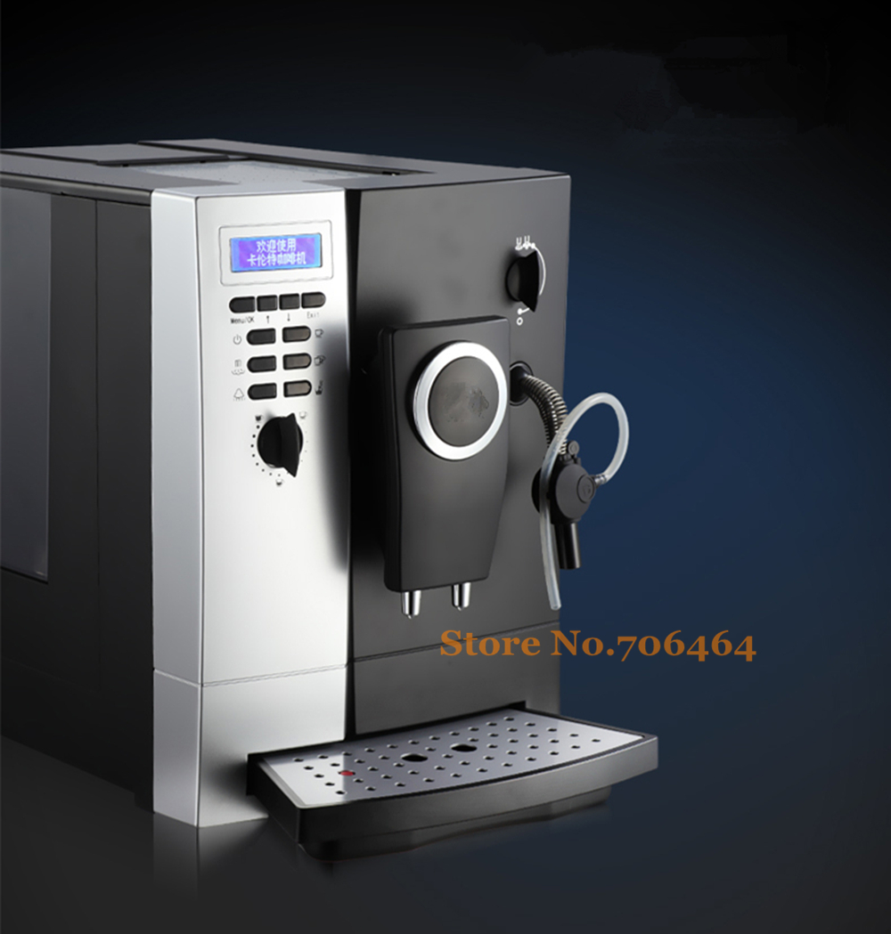 Aliexpress.com : Buy Automatic high quality CLT13 Espresso coffee maker with coffee bean grinder ...