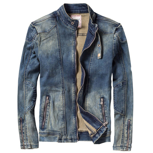 Aliexpress.com : Buy Spring Fall Fashion Cool Mens Mandarin Collar ...