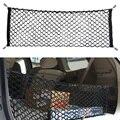Malha de Nylon rede de Armazenamento de Carro Hatchback 90 cm-35 cm de Bagagem Traseiro Carga Trunk Organizer Armazenamento extra para SUV/RV hatchback ME3L