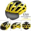 B Style Yellow White