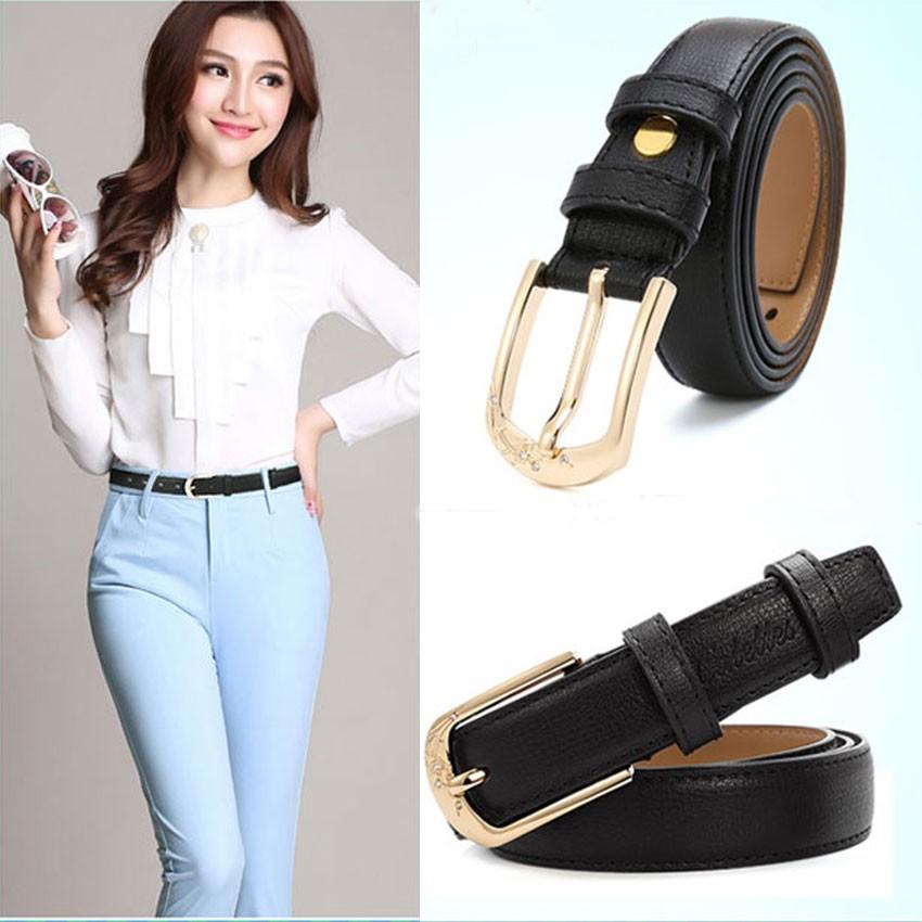 CATELLES Leather Belts For Women Designer Female Fashion Belt High Quality Woman Cinturones Mujer Metal Buckle Ceinture Femme (2)