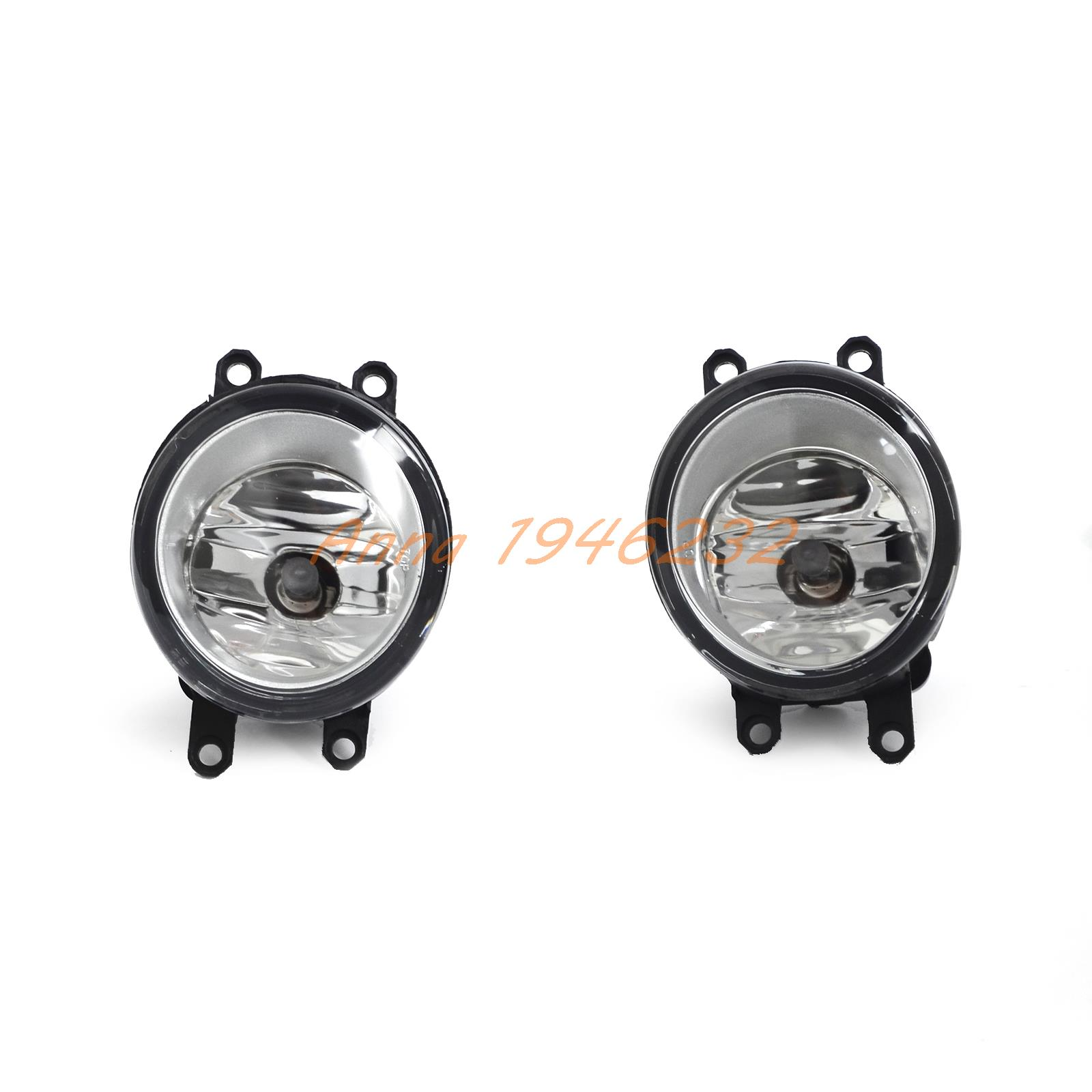 NICECNC Fog Light Lamps with H11 Bulbs For Toyota Avalon Corolla Camry Highlander Hybrid Matrix Prius Sienna Yaris Solara RAV4 платье finn flare finn flare mp002xw15kx5