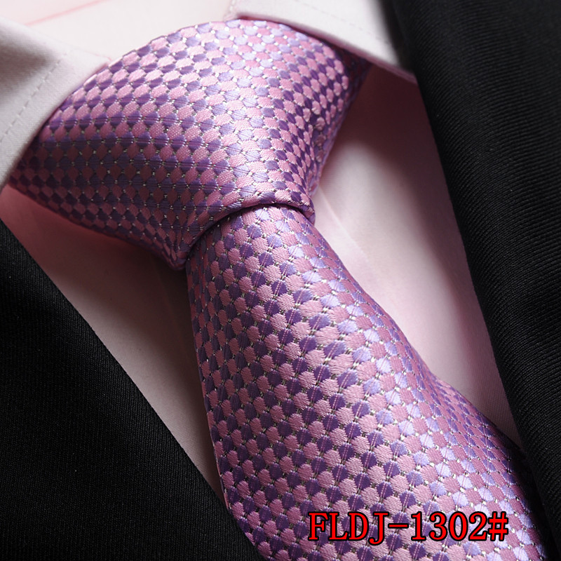2015 Limited Corbatas Gravata Wholesale Formalwear Business Tie Silk Necktie Men Korean Marriage For Groom pink