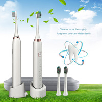 Sonic Electric Toothbrush Chargable 5 Modes Electrical Tooth Brush with Storage Case for Adult HY99 FE28