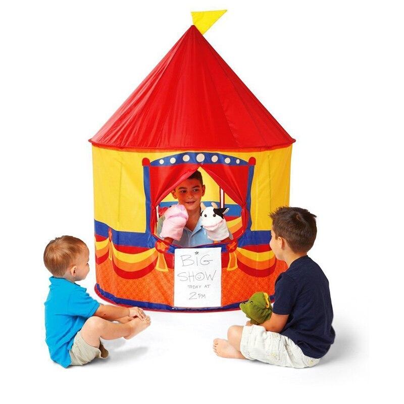 2019 Top vente enfants jouer tente enfants jouer maison pop-up teater tente-amusant et sûr jouer pour les enfants intérieur et extérieur jouer tipi