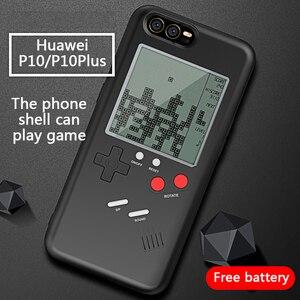 Чехол для телефона AOUK Gameboy Tetris в стиле ретро с ГБ для Huawei P10/P10Plus, мягкий ТПУ чехол для игровой консоли Blokus для P10 Plus