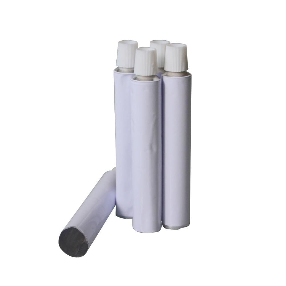 50 قطع الأبيض الألومنيوم فارغة أنابيب معجون الأسنان w/إبرة كاب تفض 10 ملليلتر 20 ملليلتر 30 ملليلتر 50 ملليلتر 100 ملليلتر-في زجاجات التعبئة من الجمال والصحة على  مجموعة 3