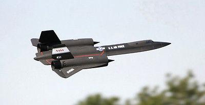 цена на Scale Skyflight Twin EDF SR71 Blackbird RC PNP/ARF Jet Plane Model W/ ESC Motor Servos W/O Battery