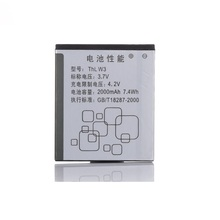 New Hot Original Battery 2000mah 3.7V Li-ion Mobile Phone For THL W3 Batterie Batterij Bateria