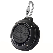 Waterproof Outdoor Portable Wireless Bluetooth Speaker Bass Stereo Speaker HandFree Loudspeaker Subwoofer Mini Hook Speakers F4
