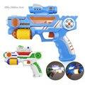 Plástico Pistola de Juguete Musical Intermitente Electrónica Proyección Arma Orbeez Pistolas De Juguete Para Niños Niño Bebé Regalos de Cumpleaños de Navidad