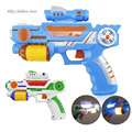 Plastic Toy Gun Musical Flashing Projection Electronic Arma Orbeez Gun Toys For Children Kid Baby Christmas Birthday Gifts