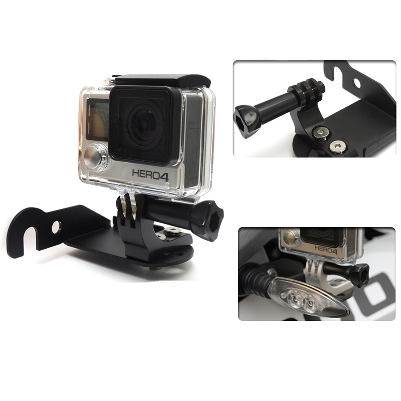 For BMW R1200GS Front Left Bracket for Go Pro for BMW R 1200 GS Adventure LC 2013 2014 2015 2016 Motorcycle Parts приключения на bmw r 1200 gs
