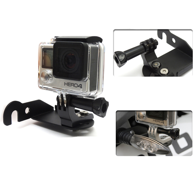 For BMW R1200GS Front Left Bracket for Go Pro for BMW R 1200 GS Adventure R1200 gs LC 2013 2014 2015 2016 Motorcycle Parts