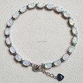 Moda 7.5 polegadas fogo Opal pulseiras para mulheres