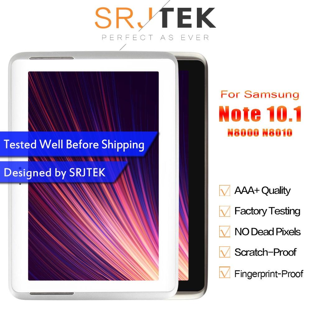 SRJTRK For Samsung Galaxy Note 10 1 GT N8000 N8000 N8010 LCD Display Matrix Touch Screen