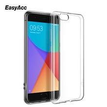 Easyacc For Xiaomi mi6 case Slim original luxury tpu silicone Transparent Shockproof Protective xiaomi mi 6 Cover