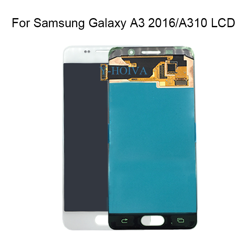 1PCS For Samsung A310 SM-A310F A310F A310M A310Y LCD Display Touch Screen Digitizer For SAMSUNG GALAXY A3 2016 Screen1PCS For Samsung A310 SM-A310F A310F A310M A310Y LCD Display Touch Screen Digitizer For SAMSUNG GALAXY A3 2016 Screen