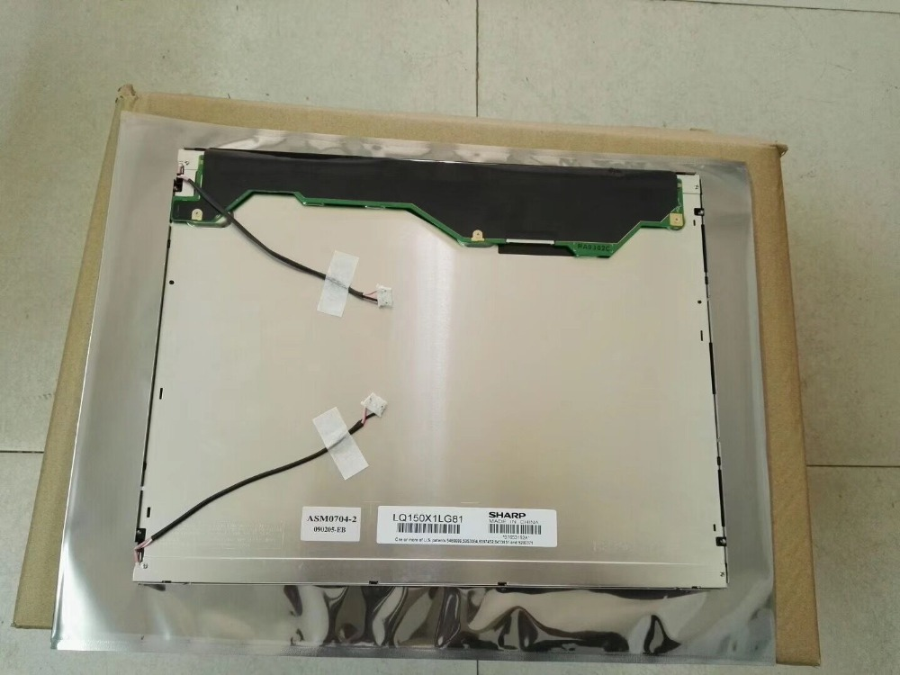 15.0 Inch Original LCD Panel LQ150X1LG81 LCD Display One Year Warranty