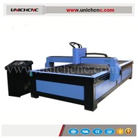 Discount price homemade cnc plasma cutting for Iron Aluminum 1300*2500mm
