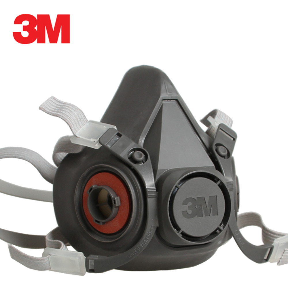 3M 6300+10pcs 2091 KN95 Dust Mask Respirator Headset Anti-particulate Filters Anti-Dust Mask Anti-fog Haze PM2.5 Protective Mask 3m kn95 6200 2091 dust mask respirator with 1621af goggles anti dust gas anti fog and haze pm2 5 protective mask suit
