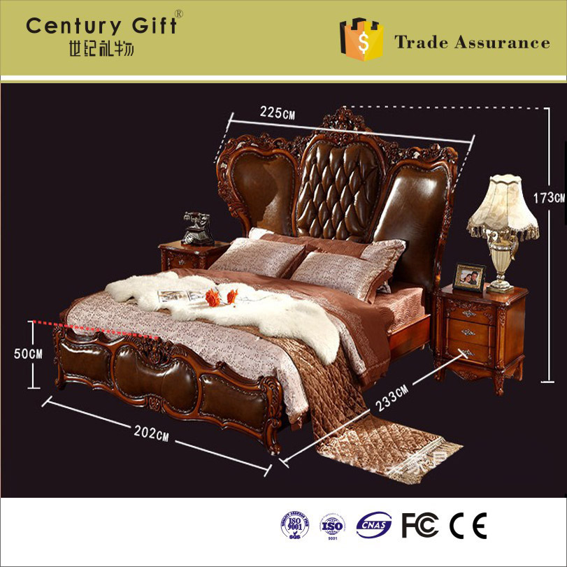 Oak Express Bedroom Furniture: European Modern Bedroom Furniture Oak Wod Frame Double