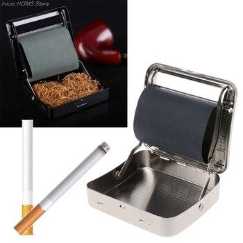 Roller-caja de tabaco automática de Metal, 70mm, para fumar