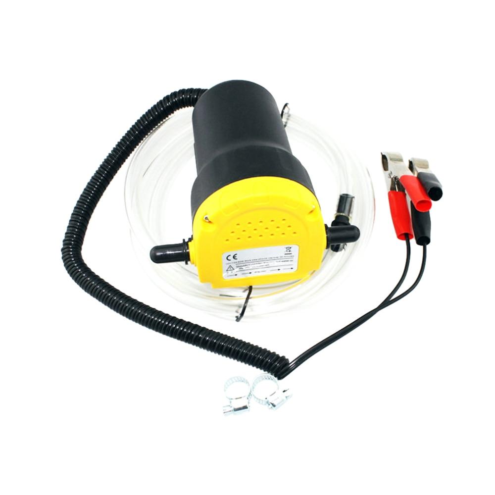 Automobiles pompa per pompare olio 12 V Olio/Pompa di Trasferimento Diesel Fluido Coppa Extractor Scavenging di Scambio Barca Auto Moto Pompa olio