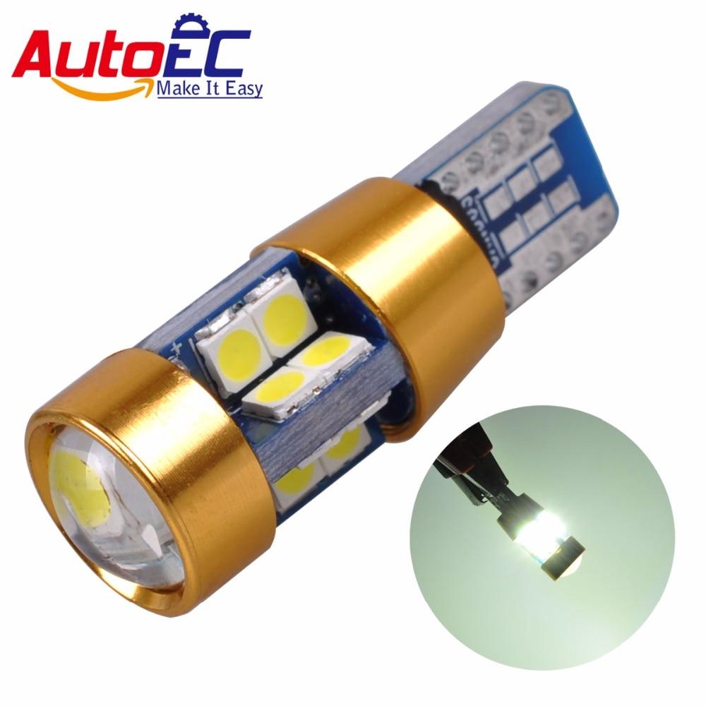 AutoEC 2x Yeni Yüksək keyfiyyətli T10 19 SMD 3030 LED W5W 2825 192 - Avtomobil işıqları - Fotoqrafiya 1