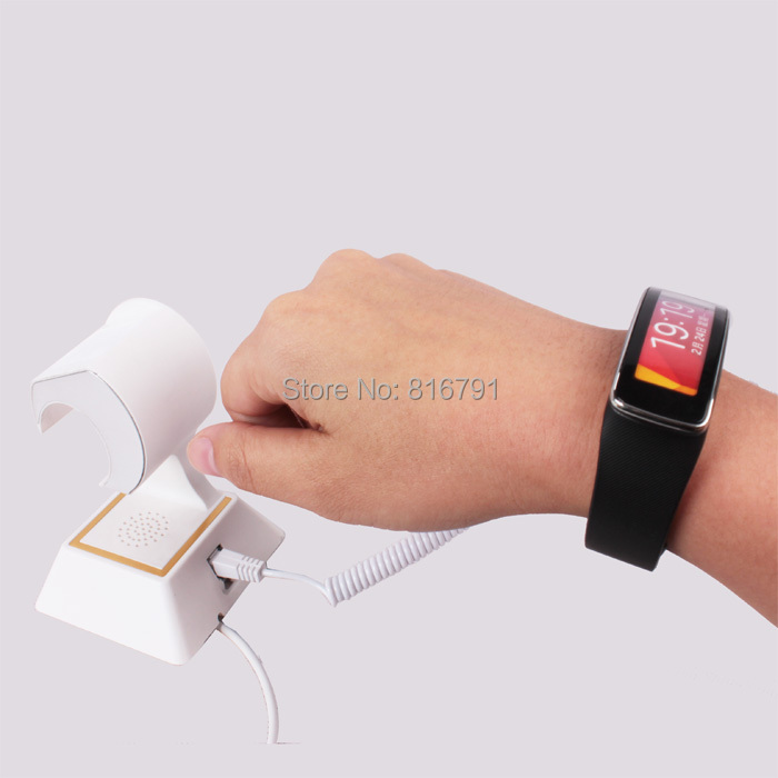 Smart Watch WristWatch Security Display Stand Anti lost Alarm for Apple Samsung HTC Huawei LG Xiaomi