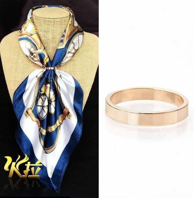 Fibbia femmina Spilla tutto-fiammifero Spilla pin sciarpa holder stile Coreano libero di trasporto stewardess di linea aerea