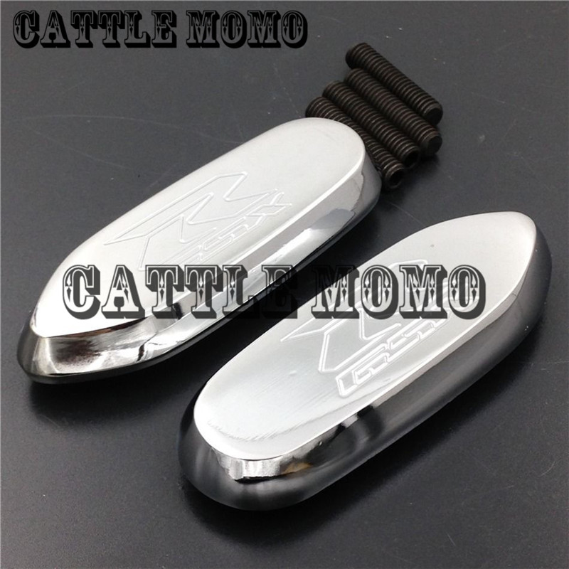 Aluminum Motorcycle Mirrors Block Off Base Plates for Suzuki GSX-R GSX R 600 750 1000 2006 2007 2008 Motorcycle Accessories