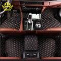 3D Personalizado esteras del piso del coche para BMW X5 E70 F15 styling accesorio del coche del coche alfombra del piso