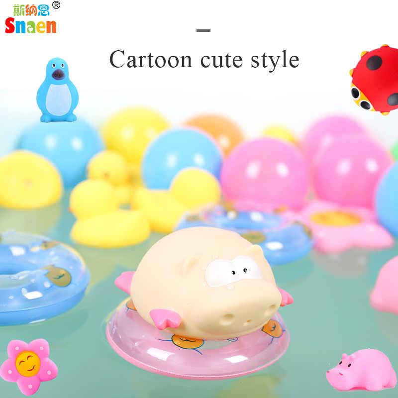 Snaen резиновые жёлтые Уточки Ducky Baby Shower сувениры для вечеринки ко дню рождения сжимаемые милые анинальные воды Ванная комната игрушки подарок для детей