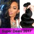 Queen hair products brasileiro da onda do corpo barato brasileiro cabelo weave bundles 100 g/pc brasileira onda do corpo do cabelo virgem 3 pacotes